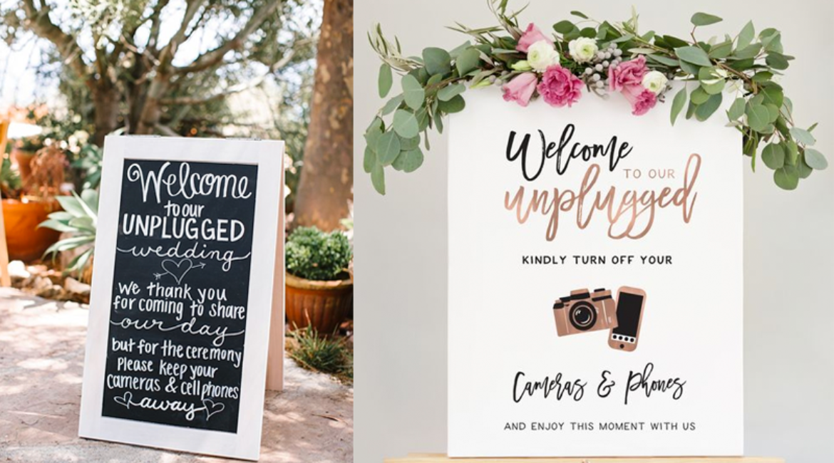BLOG TIME | Unplugged Wedding