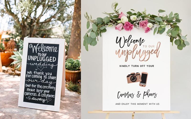 BLOG TIME | Unplugged Wedding